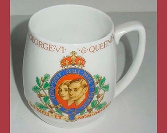 Coronation Cup - King George VI and Queen Elizabeth - May 1937 -Nice England Cup
