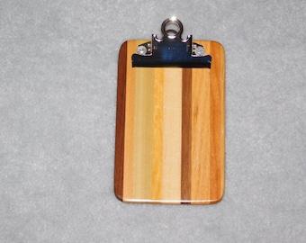 """Mini Hardwood Clipboard (6.5"""" x 4"""")"""