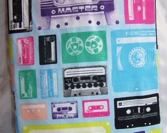 FREE SHIPPING Cassette Tape Reusable Sandwich Snack Bag