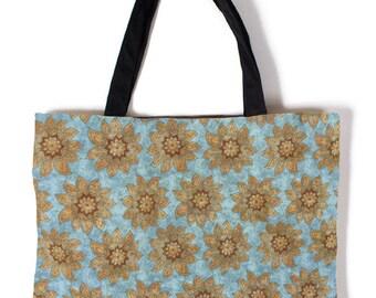 Batik Flowers Carry Bag