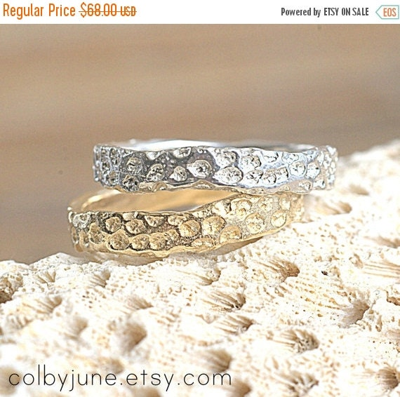 40% Off Sale Gold Vermeil Coral Ring  Ring  Nature Inspired Ring Design