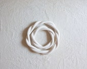 50% OFF - SECONDS SALE - White - Twisted Trivet