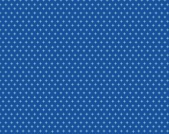30% OFF Summer Celebration Stars Blue - 1/2 Yard
