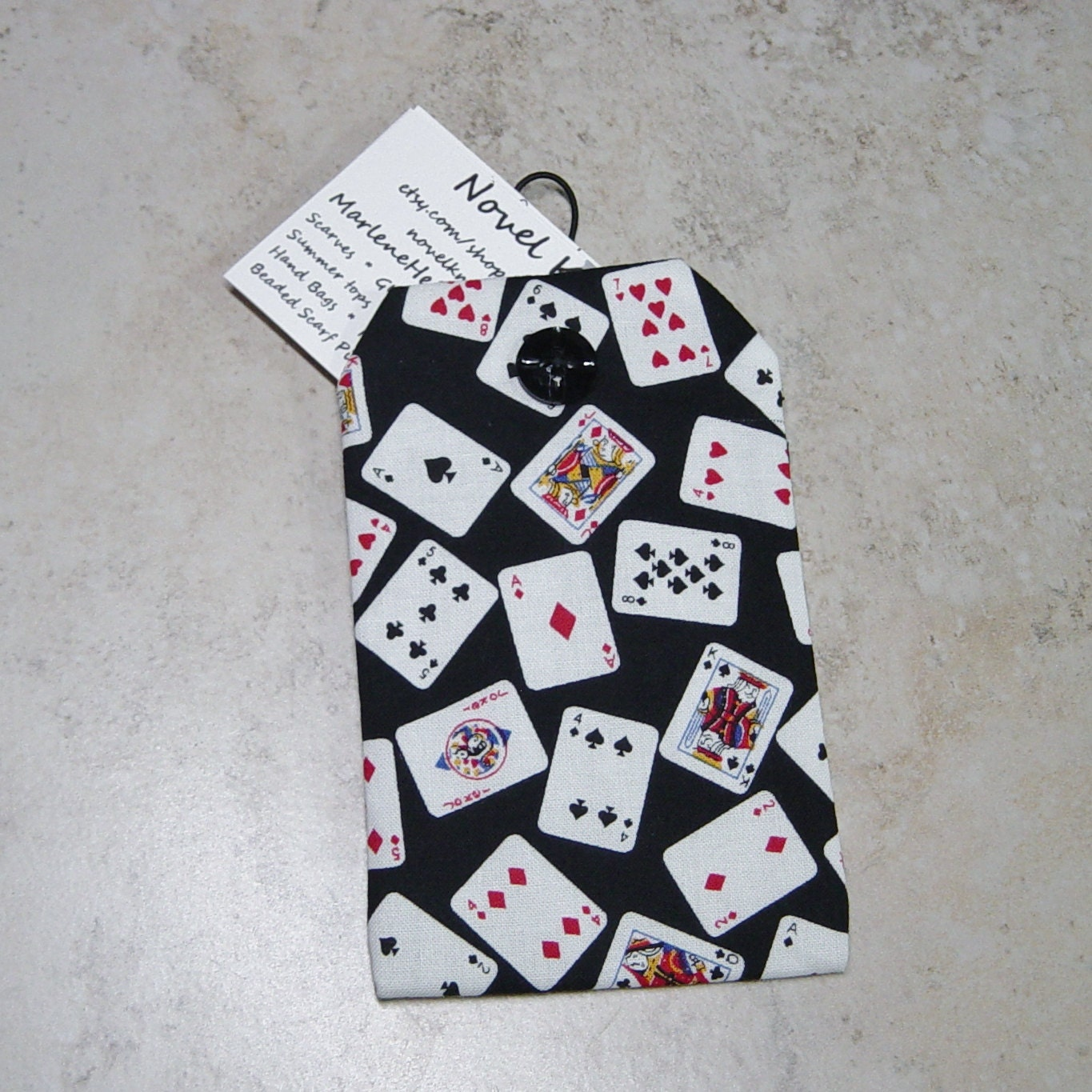 Business card caseplaying cards fabric casecredit card purse business card caseplaying cards fabric casecredit card purse gamblers gift colourmoves