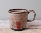 Dark Red Door Mug