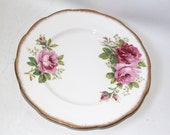 Royal Albert American Beauty Dish Plate Bone China England