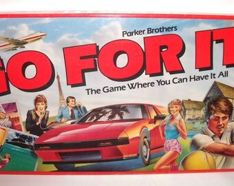 Vintage Go for It Parker Brothers Board Game