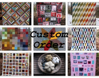 CUSTOM Order/Listing for The Woman in the Mirror ... Final payment on custom quilt