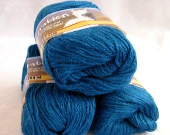50% off - Royal BLUE Alpaca yarn, worsted weight yarn, SWTC Inspiration, Celebration (393)