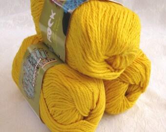 Golden Wool Soysilk Hemp blend yarn,  SWTC ROCK yarn,  Jeremy, worsted weight yarn