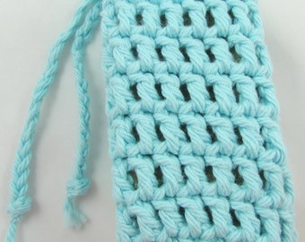 Travel Soap Bag Round PDF Crochet Pattern