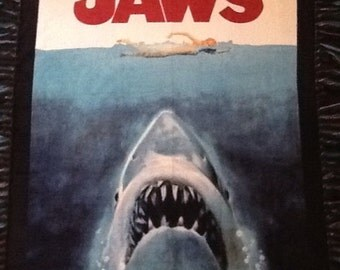 Jaws NoSew Fleece Blanket