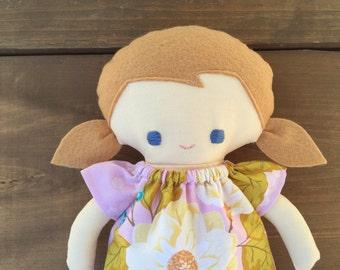 Celia a handmade doll
