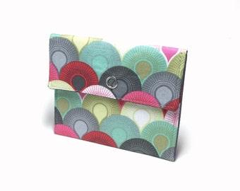 Snap wallet. Card holder. Business card holder. Mini wallet for business cards, loyalty cards, credit cards, gift cards. Card case.