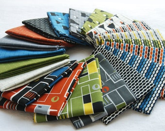"Fat Quarter Bundles ""Loft Life"" Collection by Hoodie Crescent for Stof Fabrics"