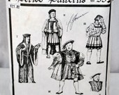 Early Tudor Men's Garments Period Sewing Pattern #53 - c.1495 - Sizes 36 38 40 42 44 46 48
