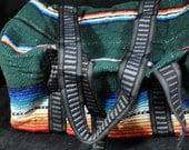 Woven Southwestern Design Tote Pow Wow Weekender Unused Bag Case