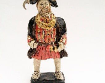 Henry VIII ceramic miniature historic figurine