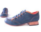 Free Shipping! Chop Chop Shoe in Midnight Blue