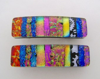 Very Small Pair of dichroic barrette