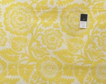 Joel Dewberry JD48 Heirloom Blockade Blossom Dandelion Cotton Fabric 1 Yard