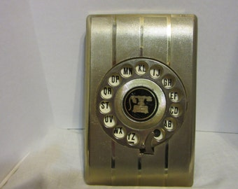 Vintage Rotary Dial Address Book