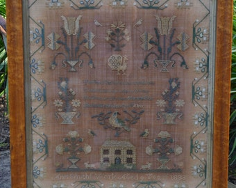 Ann Smith, A Quaker Reproduction Sampler Pattern