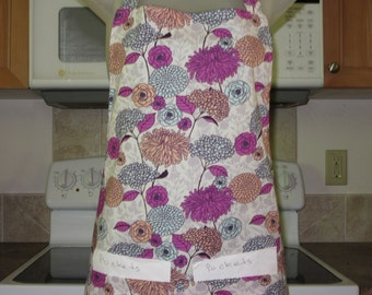 aprons for women - womens aprons - full aprons - hydrangeas mums and more
