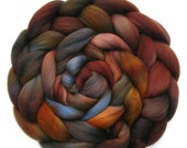Falkland Roving Handdyed Combed Top - Canyon, 6.2 oz.