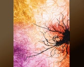 Abstract Canvas Art Painting Canvas 36x24 Original Modern Contemporary Paintings by Destiny Womack - dWo -  Tangled Webs