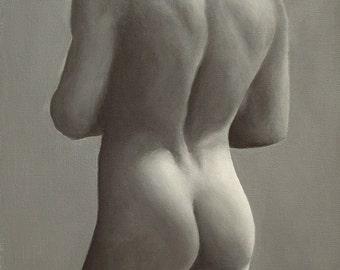 Male Figure Painting (2635)