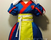 Snow White x Jedi Kimono Dress Set