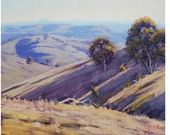 Summer Landscape Painting Sunlight & Shadows Fine Art by  Graham Gercken