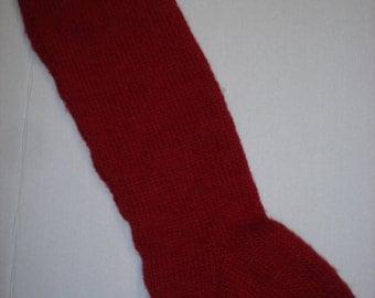 Christmas Knitted  Stocking Custom Knit Wool Stocking Personalized Stocking