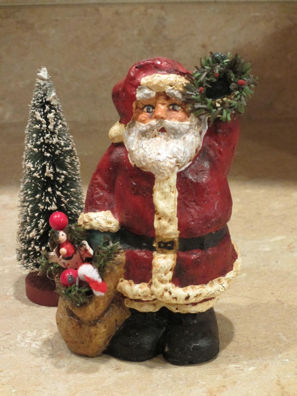 Best 28 papier mache christmas decorations vintage for Paper mache christmas