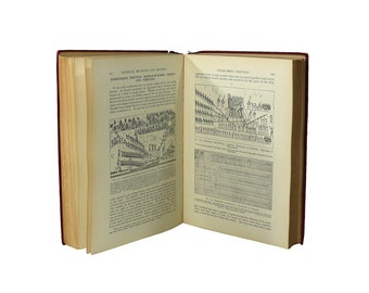 1930s 1st Ed Technical Wonders of the Ancients Book, Vintage Gadget Guide