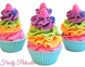 Fruity Patootie Handmade Artisan Vegan Soap Cupcake