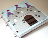 Fairy Tale Castle | Quiet Book Pattern, Busy Book Pattern, Travel Toys, Dollhouse
