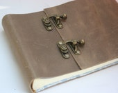 Leather Photo Album /Holds 30 Photos / Perfect wedding gift / Bride's gift