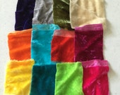 Silk Velvet Hand Dyed scrap bag!!!!