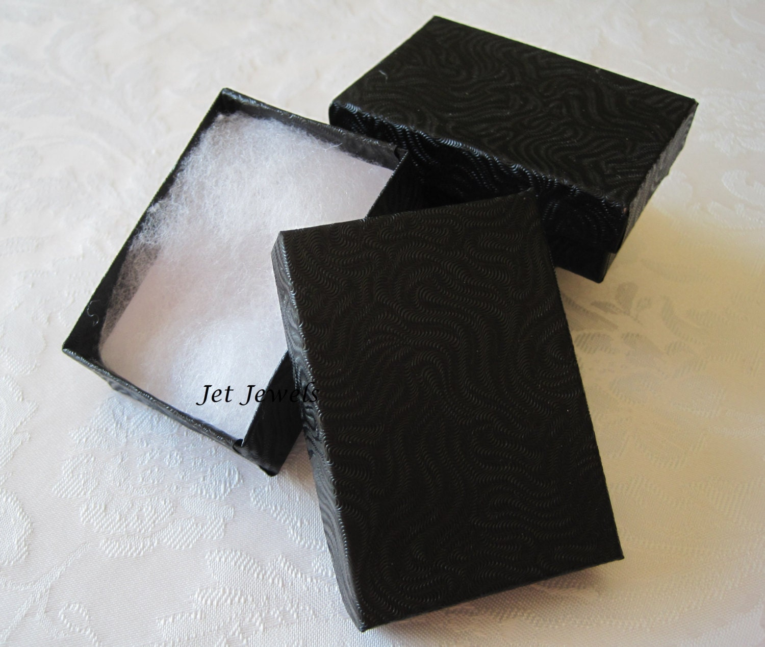 10 gift boxes black gift box jewelry gift boxes kraft for Black box container studios