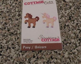 CottageCutz Pony Unicorn Die