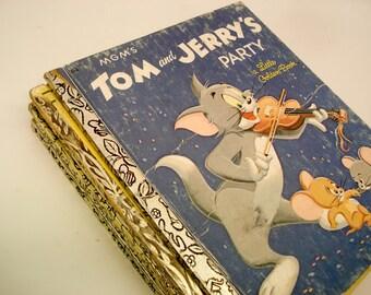 Vintage Golden Books - Classic Cartoons - set of 8