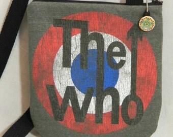 The Who Tee Shirt Cross Body Bag