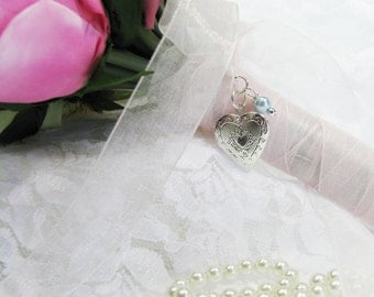 Little Heart Bouquet Locket