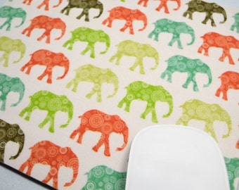 Buy 2 Free Shipping Special!!   Mouse Pad, Computer Mouse Pad, Fabric Mousepad         African Elephants
