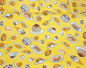 Sanrio fabric Gudetama Fat Quarter
