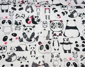 Panda print half meter A1