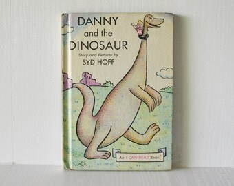Danny and the Dinosaur Book Hardcover Syd Hoff Childrens Book Dinosaur Book 1958