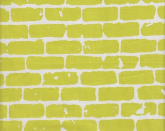 Hoffman ME + YOU Grafic Bricks in Sulfur - Half Yard